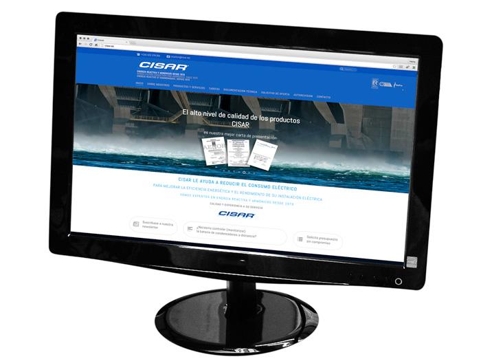 Nueva web Cisar