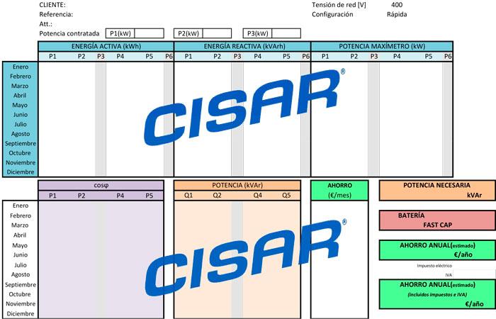 Programa de cálculo Cisar